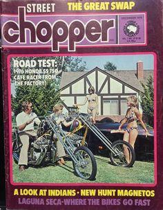 1975 Denver's Choppers Eliminator Boats – The Big Swap Motorcycle Baby, Chopper Motorcycle, Custom Choppers, Custom Motorcycles, Biker Movies, Bike Magazine, Old School Chopper, Old School Vans, Honda Cb750