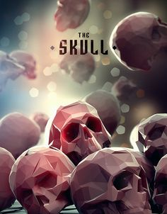 Personal project.Experimenting in Modo on Skulls.