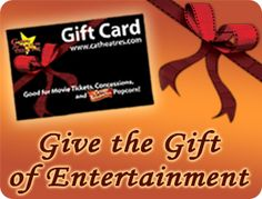 Valley Cinema gift cards!  :D  I love going to the movies!!!