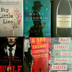 #NewReleaseTuesday is full of spies, wine, romance, and intrigue - just what you need to shake you out of a midsummer reading rut.