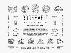 RCR Identity Display by Aaron Marks for Studio Freight on Dribbble Coffee Branding, Logo Branding, Corporate Branding, Lettering, Typography Design, Typography Poster, Typographie Inspiration, Typo Logo, Typographic Logo