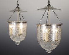 french foyer bell jar lighting - Google Search