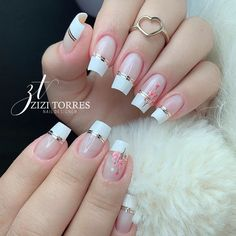 Aycrlic Nails, Diy Nails, Manicure, Pretty Toe Nails, Pretty Nail Art, Heart Nail Designs, Toe Nail Designs, Elegant Nails, Classy Nails