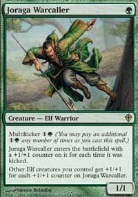 Joraga Warcaller (Commander Anthology) - Gatherer - Magic: The Gathering Mtg Decks, Elf Warrior, Green Magic, Thing 1, Magic The Gathering Cards, Magic Cards, Wizards Of The Coast, Deck Of Cards, Cool Cards