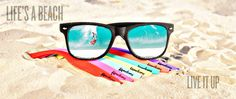 Interchangeable Sunglasses - my life is complete! Color Combos, Gift Guide, Mirrored Sunglasses, Pairs, Cool Stuff, Life, Seventeen, March, Fashion