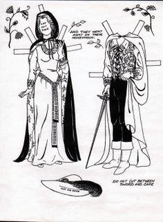 Cinderella Paper Doll Book by Lou Rathjen, 1987
