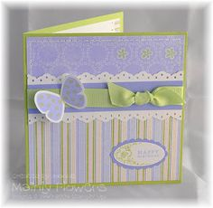 Mainly Flowers Independent Stampin' Up! Demonstrator Joanne Gelnar: At last - a card!
