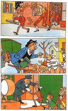 Pinocchio, Comic Books, Comics, Cartoons, Art, Animated Cartoons, Cartoon, Comic Book, Comic