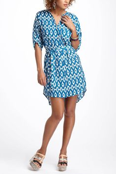 #engagementparty Anthropologie Ikat Frequencies Shirtdress. $98. Poolside Pullover. @Anthropologie .