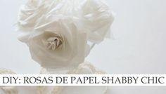 Rosas de papel