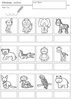 Pre K Activities, Toddler Learning Activities, Preschool Writing, Phonological Awareness, Schools First, Syllable, Printable Crafts, Kindergarten Worksheets, Kids Education