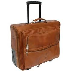 Leather Garment Bag with Wheels - Bing images