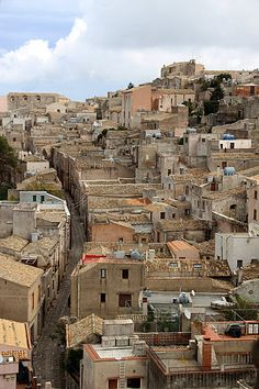 The Village of Erice, Sicily, Italy