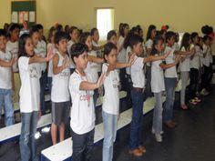 145 alunos se formam pelo Proerd em Presidente Venceslau