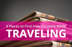 Getting Newspaper Coupons FREE
