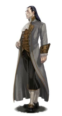 Male Aristocrat Noble - Pathfinder PFRPG DND D&D d20 fantasy