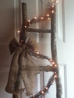 Primitive ladder ~~ Twisted Vine Creations