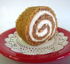 Our Scrumptious Pumpkin Roll...