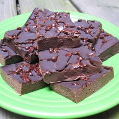 Black Bean Chocolate Brownies - Easy Dessert Recipes: 6 Vegan Low-Calorie Desserts - Shape Magazine