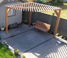 Using SketchUP to design the pergola really simplified measurements.