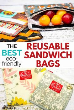 What makes the best reusable sandwich bag for packing lunches and snacks on the go? After years of testing them, I can tell you everything you need to know. Reusable Sandwich Bags, Reusable Bags, Packed Lunch Sandwiches, No Waste, Produce Bags, Best Sandwich, Snack Bags, No Plastic, Kid Friendly Meals