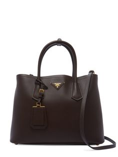 Large Leather Convertible Tote by Prada at Gilt