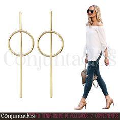 Pendientes dorados Aimé ★ 11'95 € ★ Cómpralos en https://www.conjuntados.com/es/pendientes-dorados-aime.html ★ #pendientes #earrings #conjuntados #conjuntada #joyitas #lowcost #jewelry #bisutería #bijoux #accesorios #complementos #moda #eventos #fashion #fashionadicct #fashionblogger #blogger #picoftheday #outfit #estilo #style #casualstreet #streetstyle #spain #GustosParaTodas #ParaTodosLosGustos