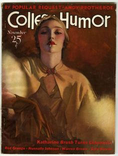 1932 Rolf Armstrong College Humor Magazine Cover Photograph | eBay