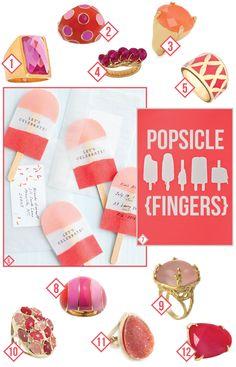 Popsicle fingers