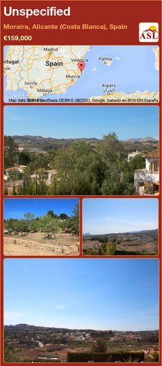 Unspecified for Sale in Moraira, Alicante (Costa Blanca), Spain - A Spanish Life Murcia, Alicante, Valencia, Spanish, Sunset, Beach, Life, Palmas, The Beach
