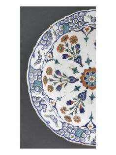 Plat aux 6 bouquets - Musée national de la Renaissance (Ecouen)