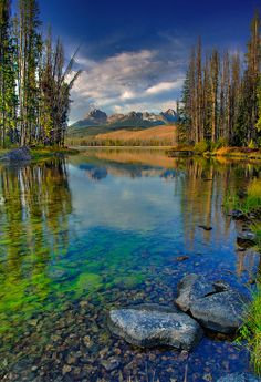 Sawtooth National Forest, Idaho.