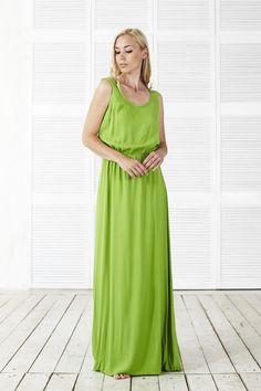 Новинка! Платье Алекса цвета лайма! Легкое, нежное, летящее ... Размеры 40-50, цена 7500, заказать 89163020222 Посмотреть на сайте http://www.fedorastudio.ru/shop/bag/card/ru.5520.htm