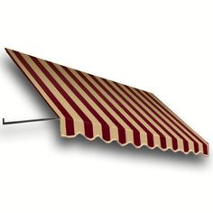 AWNTECH 25 ft. Dallas Retro Window/Entry Awning (56 in. H x 48 in. D) in