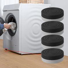 4Pcs Washing Machine Anti-Vibration Pads
