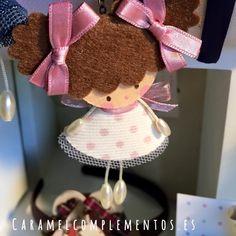 COMPLEMENTOS INFANTILES CARAMEL: DIADEMAS, TOCADOS, CORONAS Y COLETEROS: Diademas Infantiles Sweet Doll