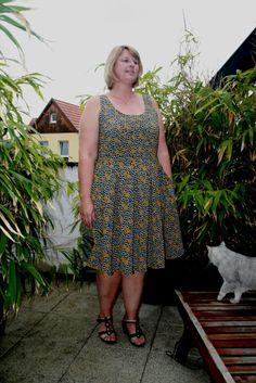 Cashmerette Upton Dress by Severine