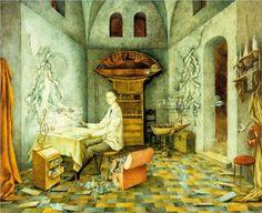 Artist Remedios Varo (Spanish-Mexican:1908-1963) | Harmony - 1956