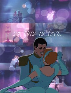 Disney Challenge Day 15: Favorite Romantic Moment- When Cinderella and Prince Charming dance and fall in love :)