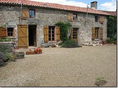 4 bed spacious house with uninterrupted views of open countryside and pool, gardens of 1000m2.  2 further outbuildings. Price 189,280 euros. www.agencemelusinefrance.com for further info and more properties