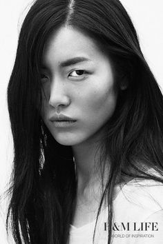 Chinese supermodel Liu Wen on why we shouldn't be afraid to experiment a little and why every good photographer needs to be a great DJ. Samurai, Liu Wen, Photographer Needed, Portraits, Chinese Model, Victoria Secret Fashion Show, Best Photographers, Messy Hairstyles, Woman Face