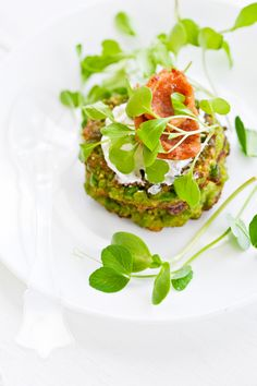 Pea Cakes @Jen Laceda | Tartine and Apron Strings
