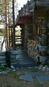 Nordic Adventures log cabin at Salla Civilization, Cabins, Hunting, Adventure, Plants, Adventure Movies, Plant, Cottages, Adventure Books