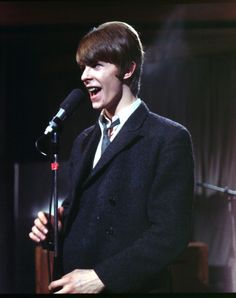 David Bowie performs on Ready, Steady, Go in 1966 London.