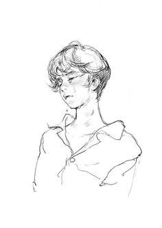 Pretty Art, Cute Art, Manga, Arte Punk, Illustration Art, Illustrations, Arte Sketchbook, Art Poses, Boy Art
