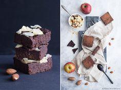 Gesunde Brownies mit Apfel, Zimt und Geheimzutat | maraswunderland.de