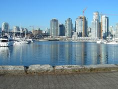Screw this rainy day. Later I am going walking here. False Creek, real beauty.