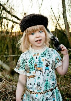Misha Lulu for winter 2013 kids fashion, inspiration from Woodland fairy tales with a retro feeling