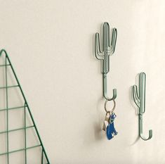 Wall Hook [ Cactus ]  / Wall Hanging / Wall Decor Hook / 101662460 by DubuDumo on Etsy