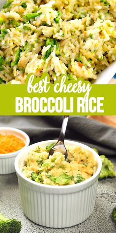 Feb 2020 - Cheesy Broccoli Rice - A fantastic versatile side dish loaded with cheesy broccoli and rice. Use the cheese and vegetable your family loves. Vegetable Recipes, Vegetarian Recipes, Cooking Recipes, Healthy Recipes, Rice Cooker Recipes, Dog Recipes, Quick Dinner Recipes, Side Dish Recipes, Gluten Free Recipes For Lunch